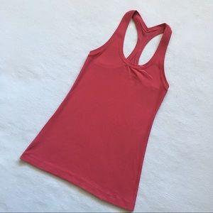 lululemon athletica Tops - Lululemon Cool Racerback II Tank Top Pink 2 / 4